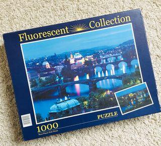 Puzzle 1000 fluorescente Clementoni