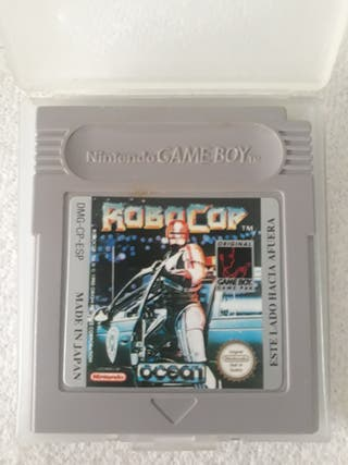 Robocop Gameboy