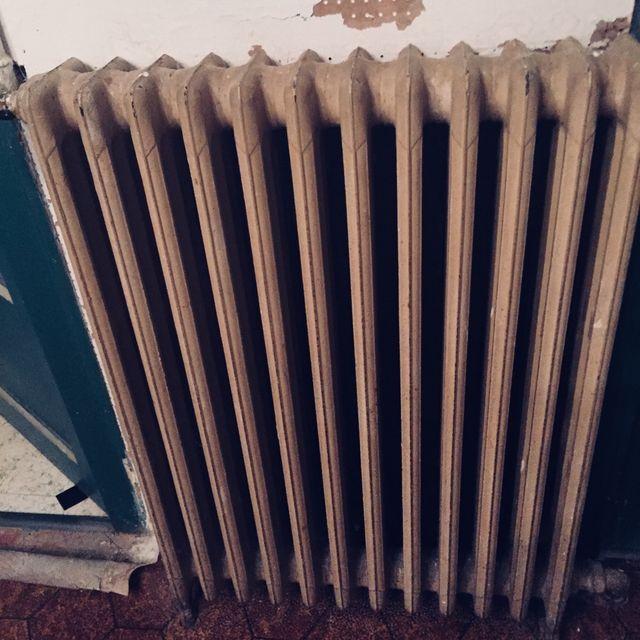 Radiadores hierro fundido vintage.