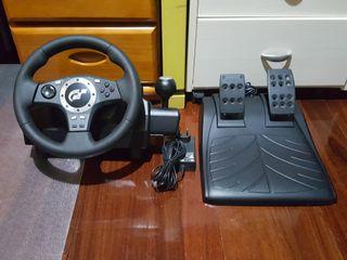 volante pc, ps2 y ps3