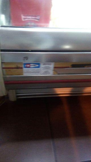 vitrina de 140cm bar o comercio .