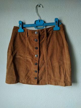 falda de pana