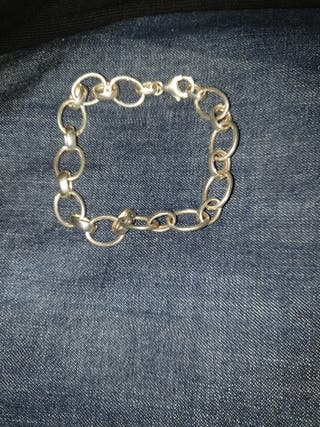f20af56a7f45 pulsera de plata. 20 €. pulsera de plata. Pulsera de plata de mujer. Pulsera  eslabon veneciano 20 cm de largo