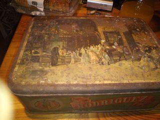 caja antiguá