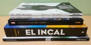 Oferta 5 comics (El Incal, Bug, Born Again, etc)