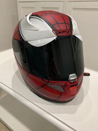 Casco moto HJC Spider man