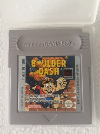 Boulder Dash Nintendo Gameboy