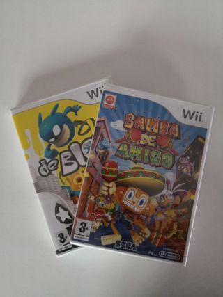 Pack 2 juegos PRECINTADOS Wii