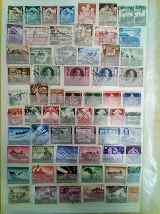 135 sellos autenticos alemania III REICH
