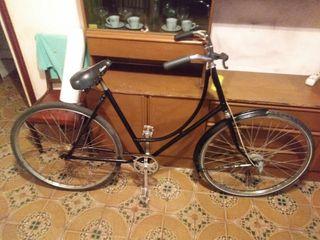 Bicicleta holandesa a contrapedal