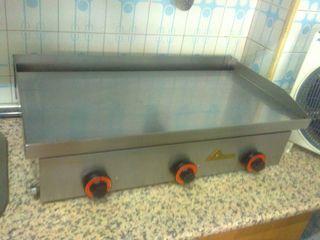 Plancha industrial de cocina acero inoxidable