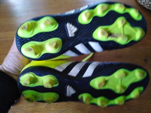 botas futbol Adidas tacos 35 niño