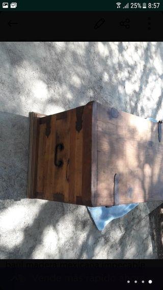 baul madera mexicana