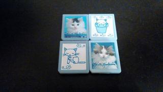 Set 4 cajas Gatitos Juegos Nintendo DS