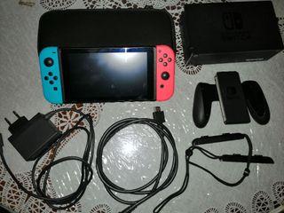 Nintendo Switch con 2 juegos y garantía.