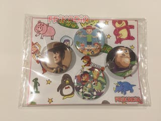 Pack 4 chapas Toy Story