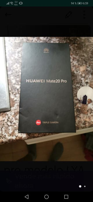 Huawei mate pro nuevo
