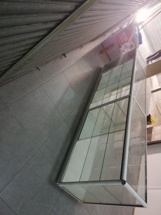 vendo 2 vitrinas de 3 metros
