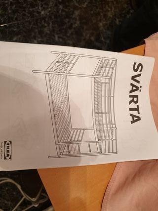 litera hierro Ikea nueva a estrenar