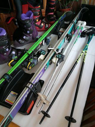Lote completo esquí