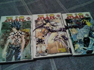 Manga Mar tomos 11-12-13