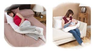 Almohada embarazo y cojín lactancia