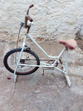 Bicicleta estática BH vintage años 60