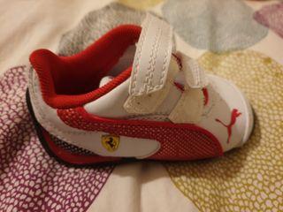 zapatillas bebé puma ferrari talla 19