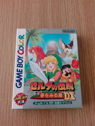 Game Boy Color The Legend of Zelda DX nintendo