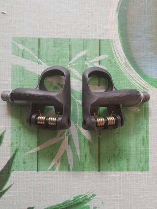 pedales look, cambio por shimano
