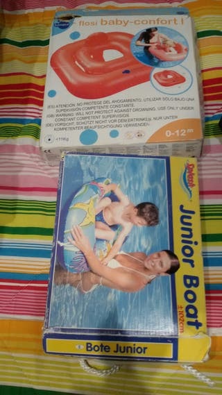 flotador + piscina