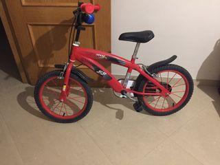 Bicicleta infantil para niño 4-6 años