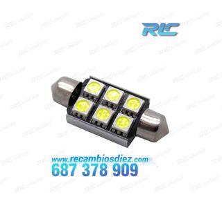 Bombilla LED c5w / festoon Canbus 41mm
