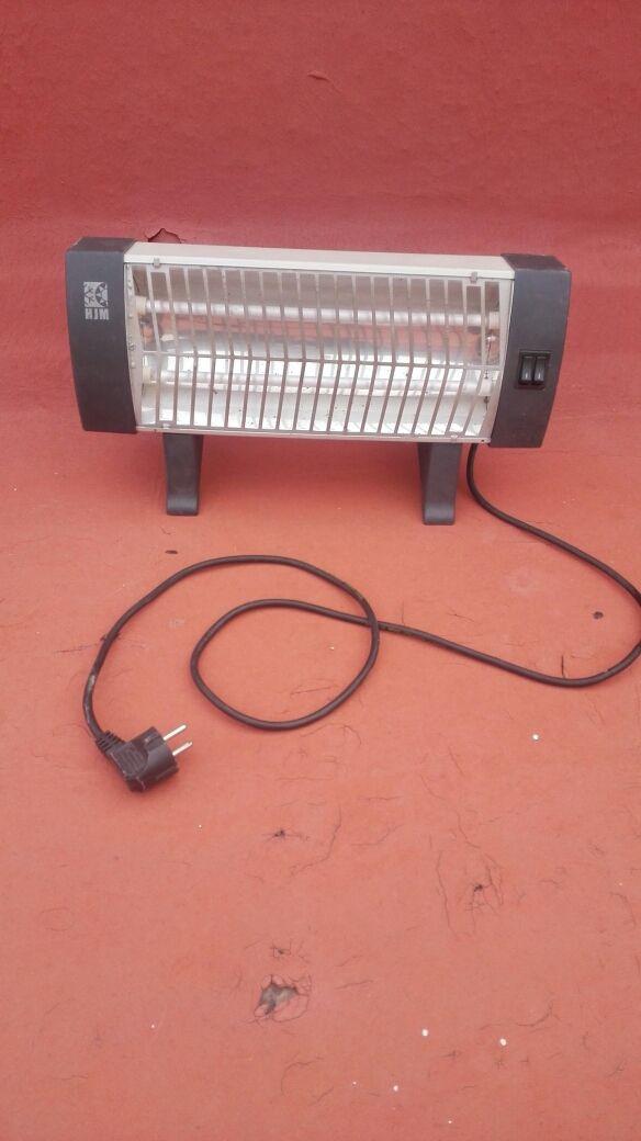 Calefactor doble de cable largo