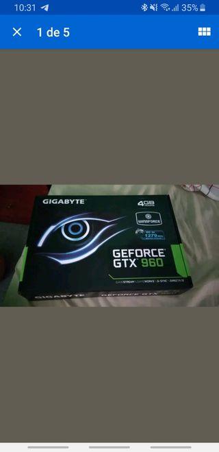 Tarjeta Grafica NVIDIA GTX 960