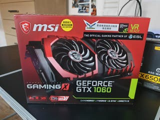 MSI NVIDIA GeForce GTX 1060 GAMING X 6 GB GDDR5 Me