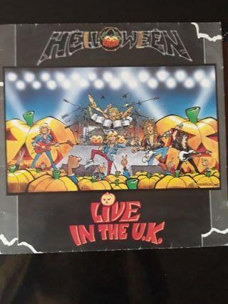 Disco vinilo Helloween Live in the UK
