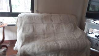 colcha ganchillo de cama 1.35€