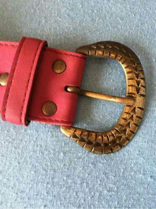 Cinturón magenta- rojo