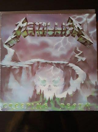 Disco vinilo Metallica Creeping Death
