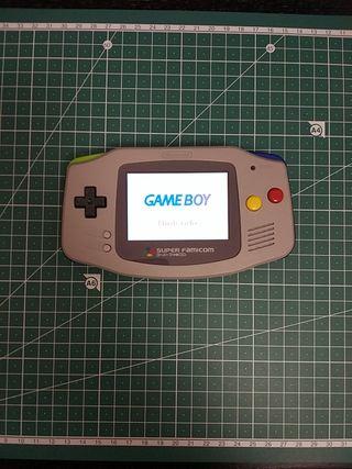 Game Boy Advance Retroiluminada
