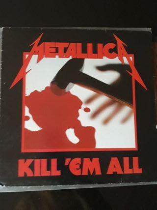 """Disco de vinilo Metallica """"Kill'Em All"""""""