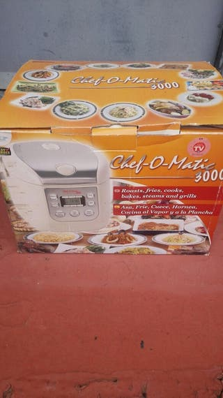 """Robot de cocina """"chef o matic 3000"""""""