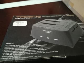 Clonador de disco duro PORTUM DUO II USB 3.0