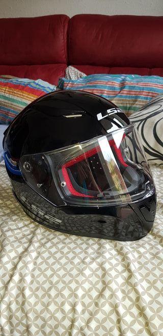 casco moto ls2 rapid talla M