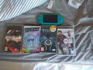 PSP más juegos
