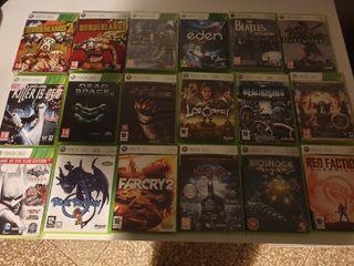 Juegos XBOX 360 (Varios)