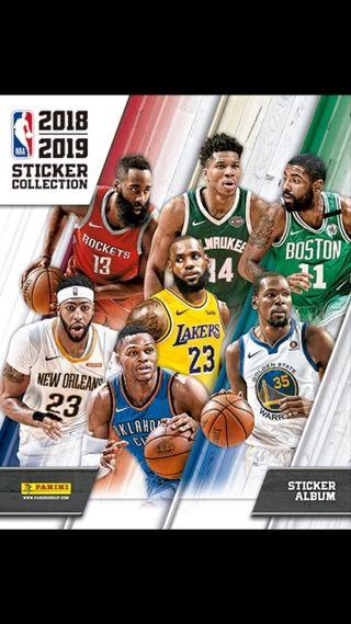 Cromos NBA 2018/2019