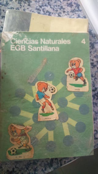 libro EGB ciencias naturales 4º