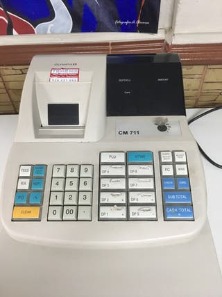 Máquina registradora Olimpia c711
